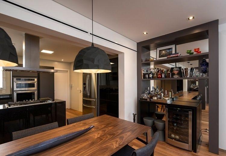 Cozinhas Integradas Com Imagens Sala De Apartamento