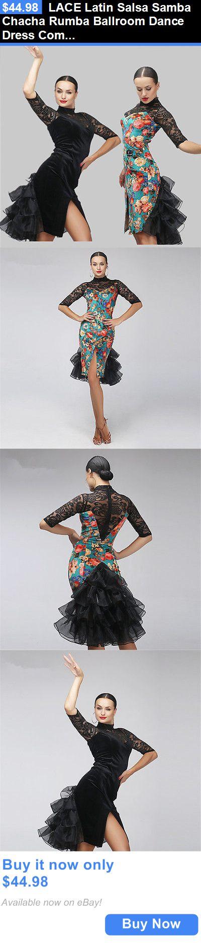 Cool Ballroom dresses Dancewear: Lace Latin Salsa Samba Chacha Rumba ...