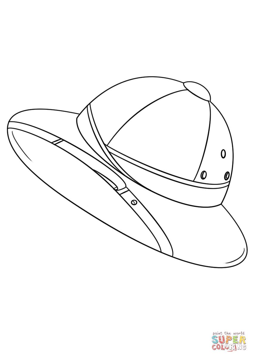 Safari Hat Coloring Page Free Printable Coloring Pages Free Printable Coloring Pages Coloring Pages Safari Hat