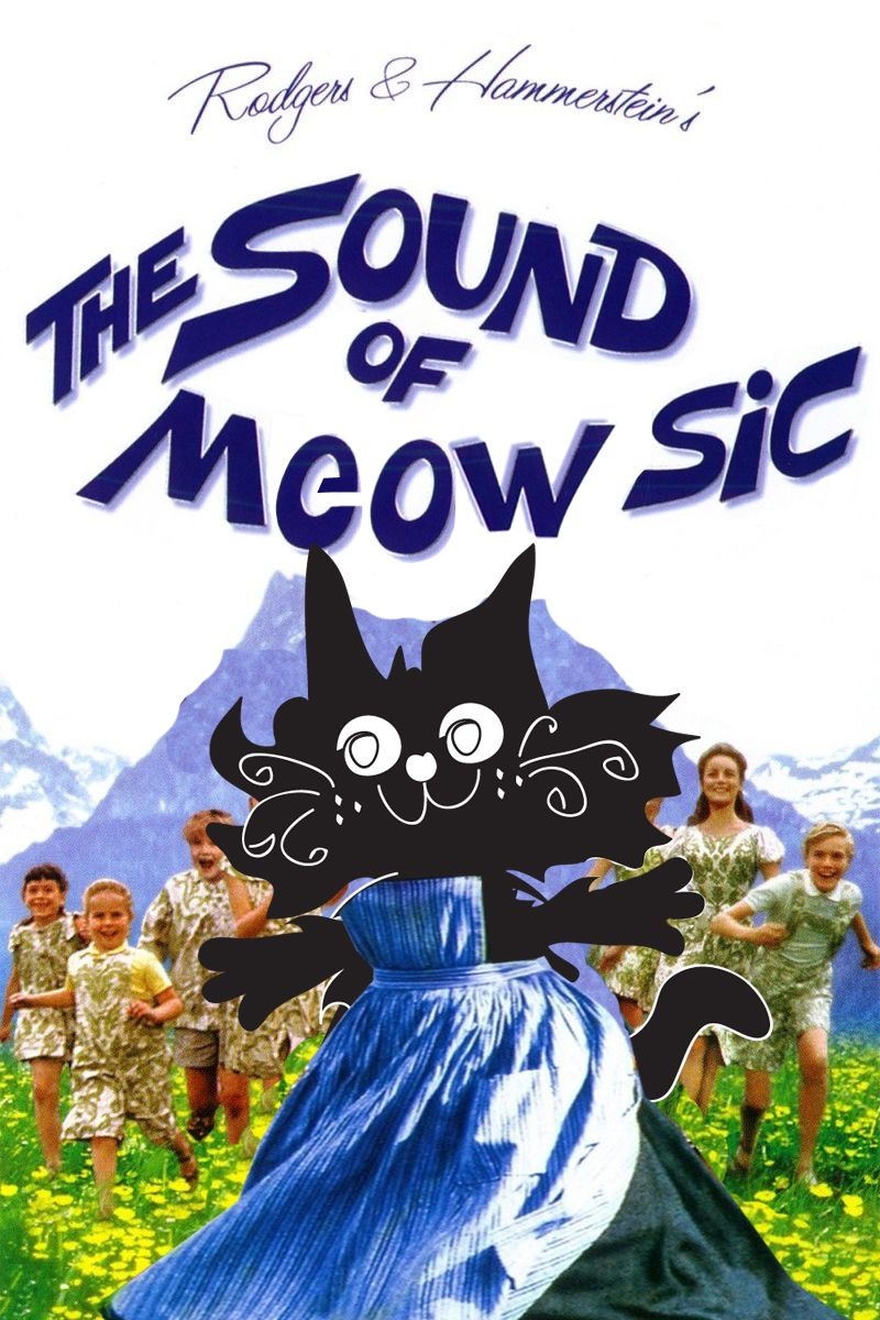 The Sound of Music Fanart Cat movie, Fan art, Cat theme
