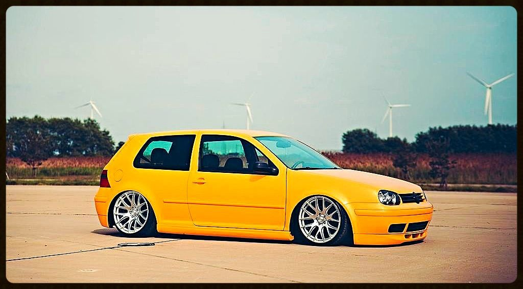 Imola Yellow Mk4 Golf 25th Anniversary Edition Gti Mk4 Gti Vw