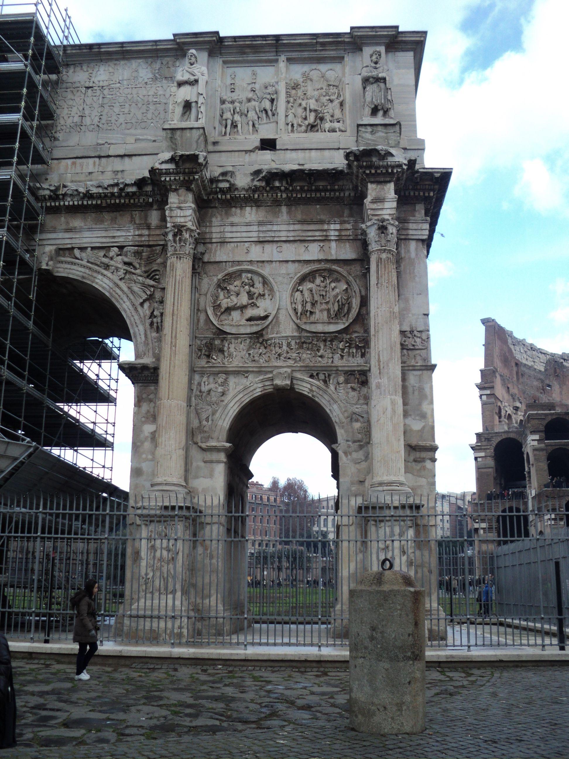 Arco de Constantino, Roma