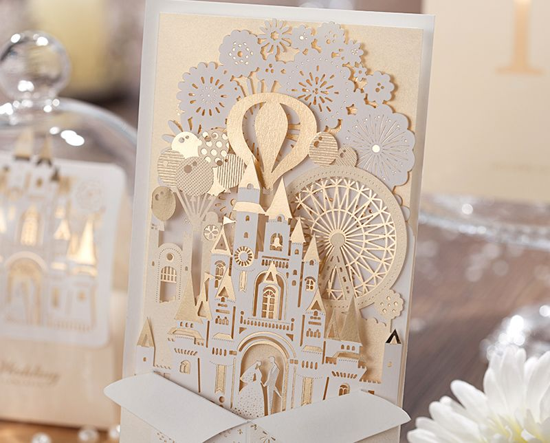 laser cut wedding invitations diy - Google Search | Wedding things ...