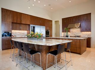 Barton Creek Residence - contemporary - kitchen - austin - by Cornerstone Architects