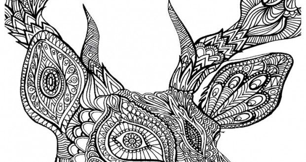 10 Gorgeous Free Adult Coloring Pages
