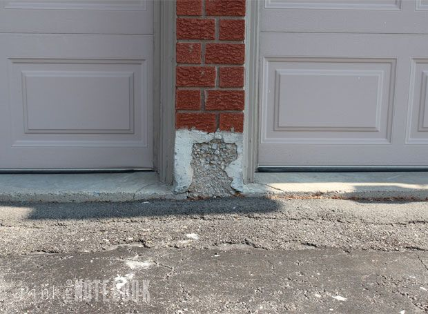 How To Repair Your Crumbling Concrete Walls Pink Little Notebook Concrete Wall Wall Exterior Concrete Block Walls