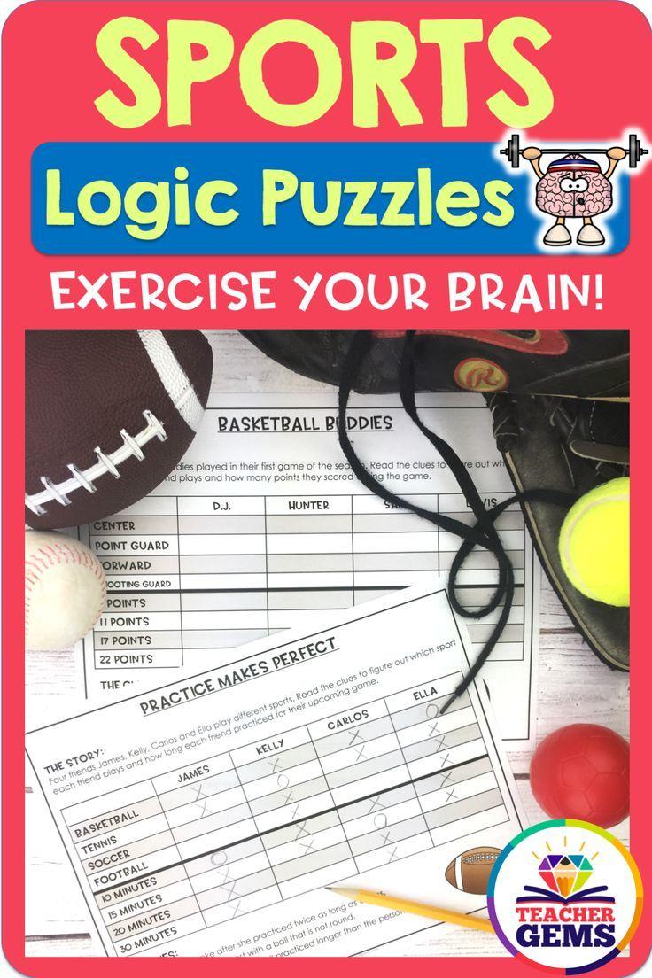 Sports Logic Puzzles