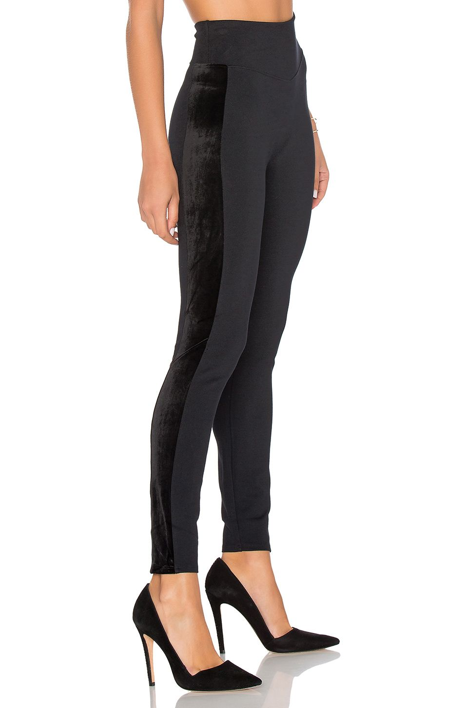060036e3241052 SPANX Ponte Velvet Legging in Very Black | REVOLVE | Wardrobe ...