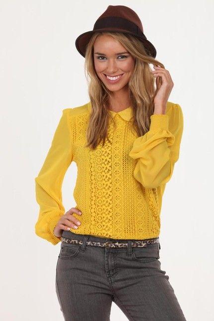 eva crochet blouse, cotton on $15.00 on sale