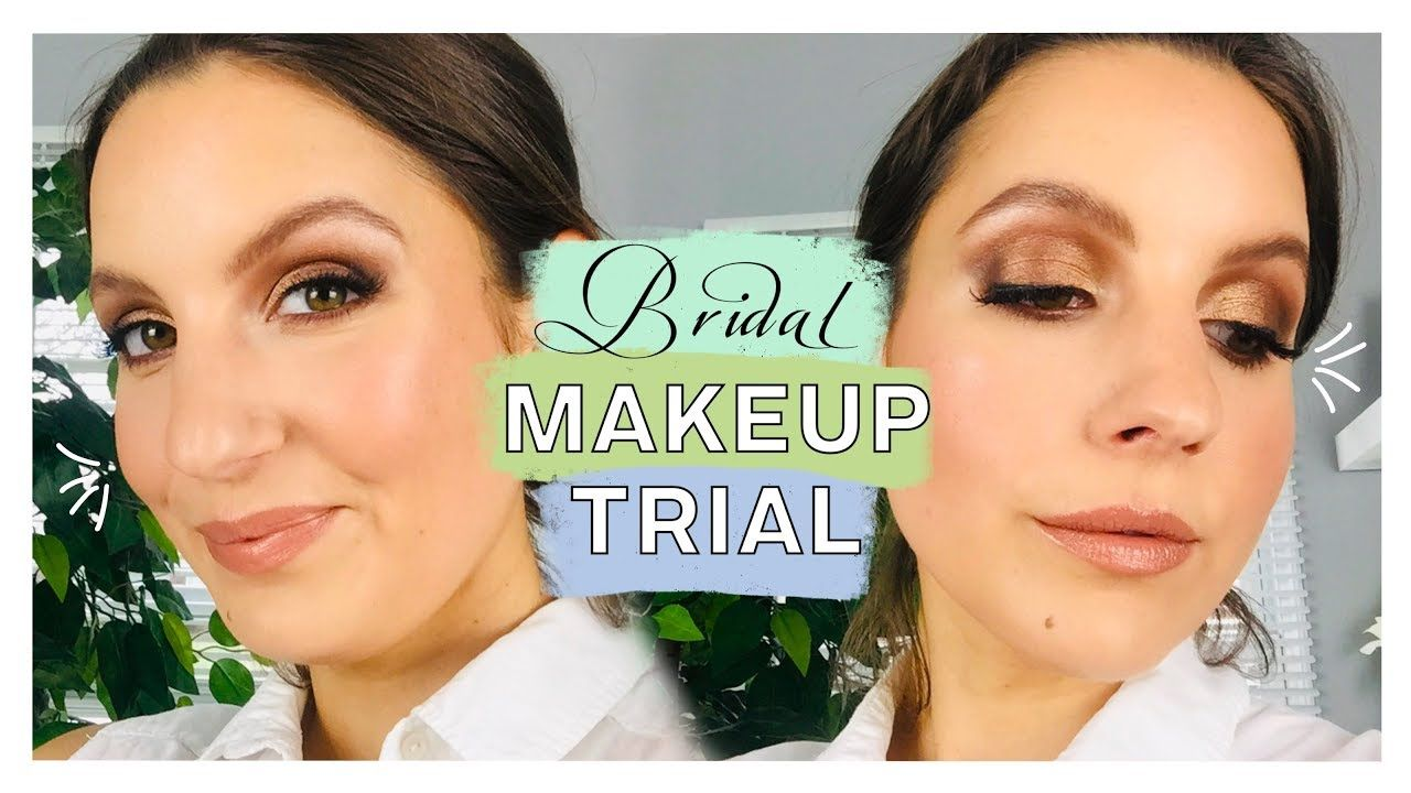 Bronzy Bridal Makeup Trial Should I Go For It Wedding Series Vol 8 Proud Marlin Youtube Makeup Trial Bridal Makeup Bridal Makeup Looks