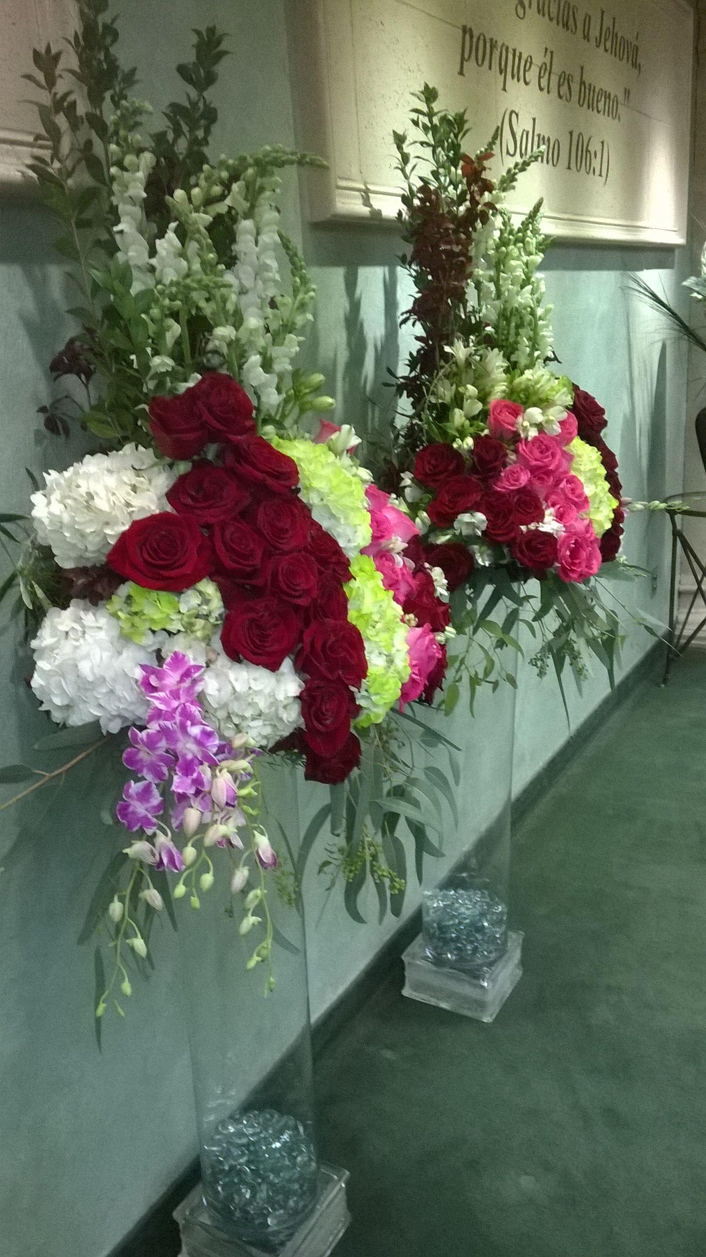 Flowers for Kingdom Hall Wedding...by Amarosa Floral | wedding ...