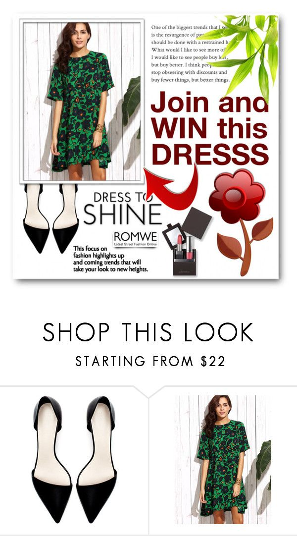 """Romwe Contest"" by tanja133 ❤ liked on Polyvore featuring Zara and Laura Mercier"