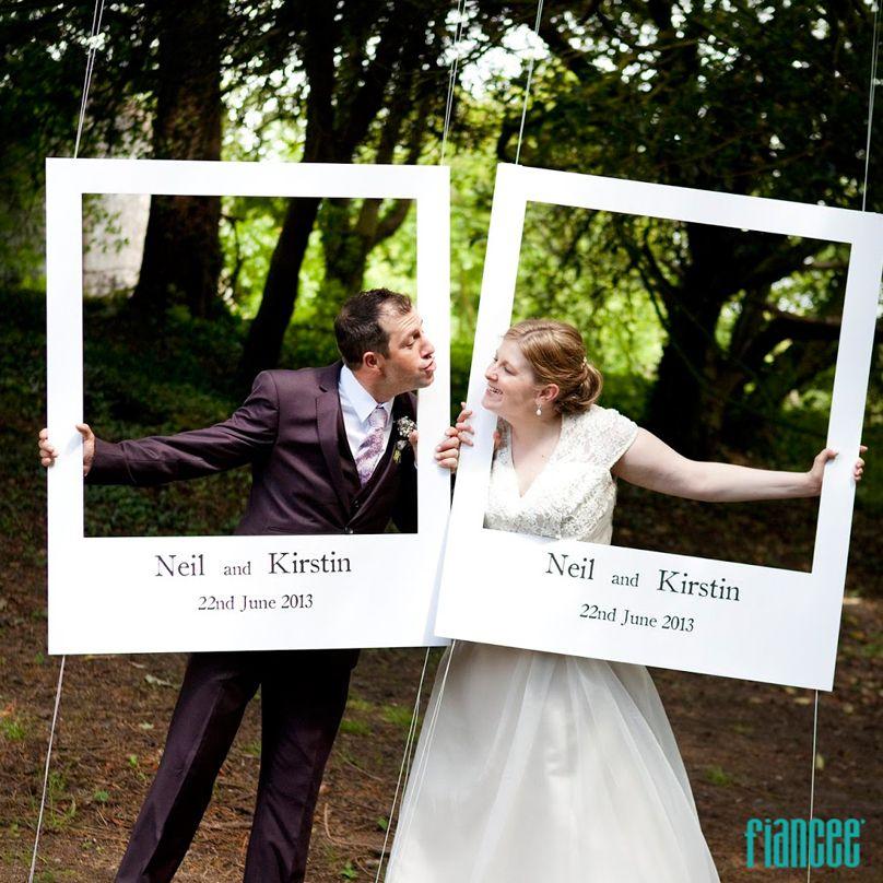 Si quieres que tus invitados se tomen una foto original - Cuadros con fotos ...