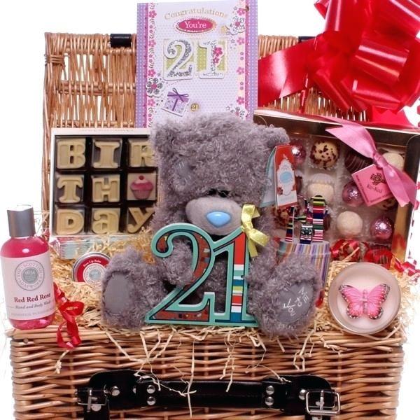 21st Birthday Box For Her Hamper Diy