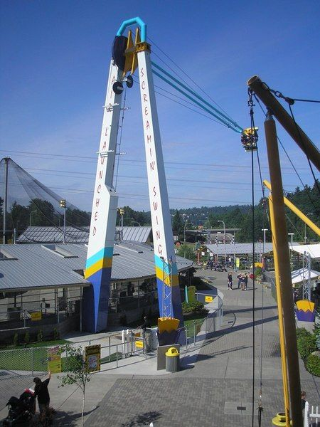 Family Fun Center Screamin' Swing in Seattle Southside | Things to