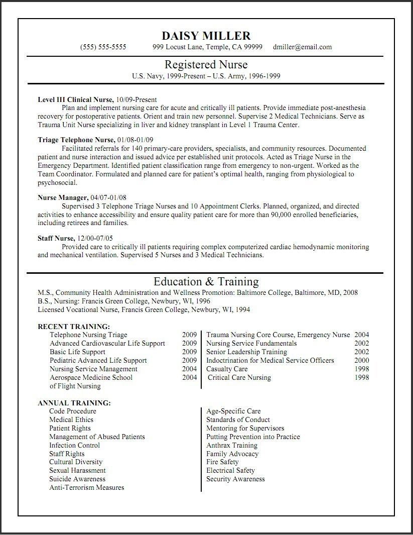 Tips to Edit Nurse Resume Templates Nursing resume