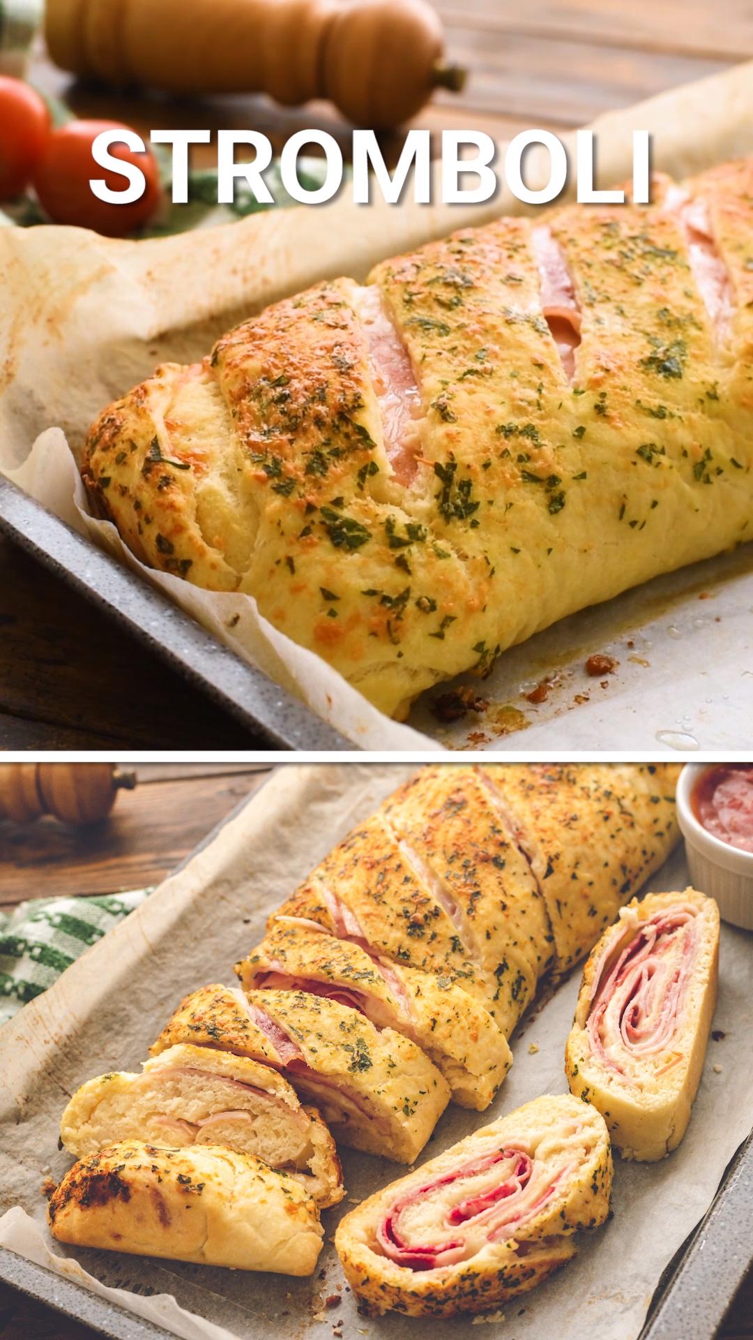 Stromboli Recipe - Quick & Easy!