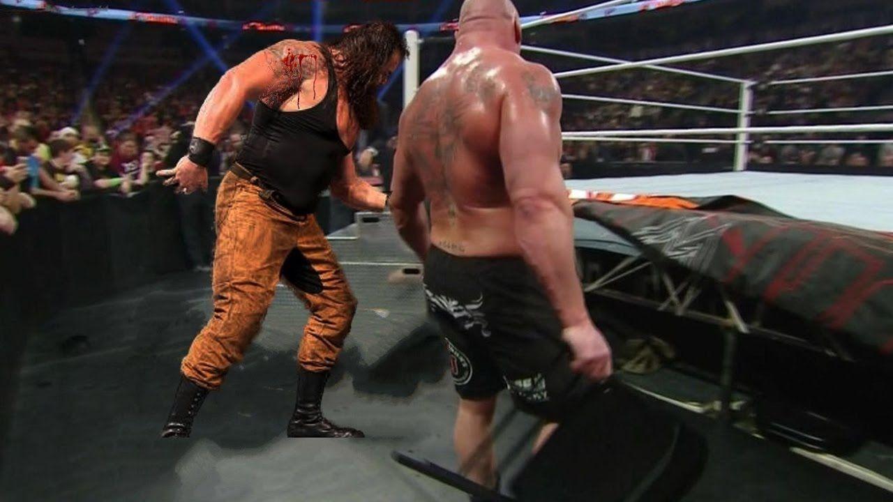 Braun Strowman Vs Brock Lesnar