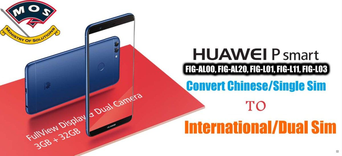 Huawei P Smart Rebrand (Convert Chinese to International