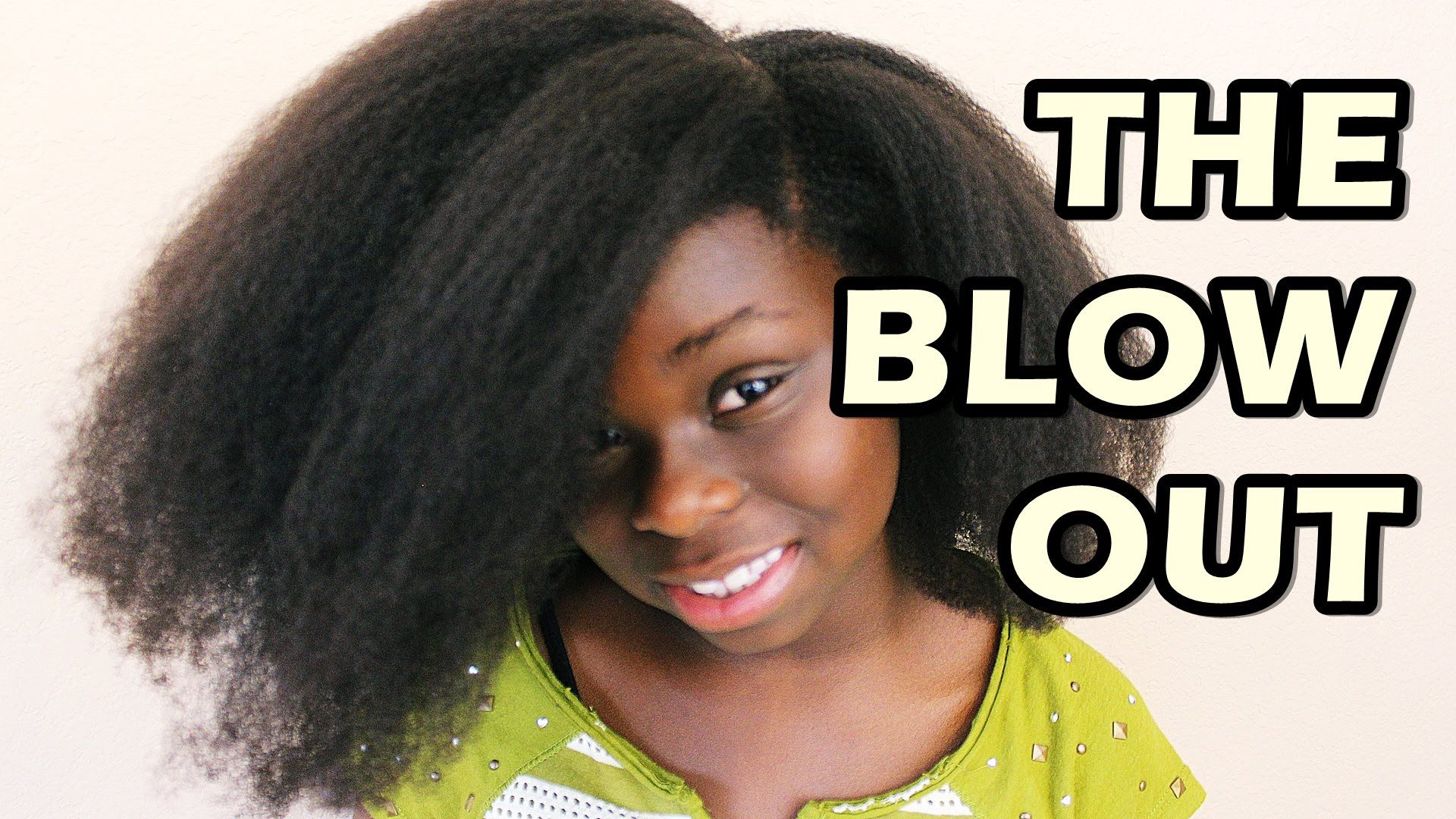 How to Blow Out Natural Hair Big Sis
