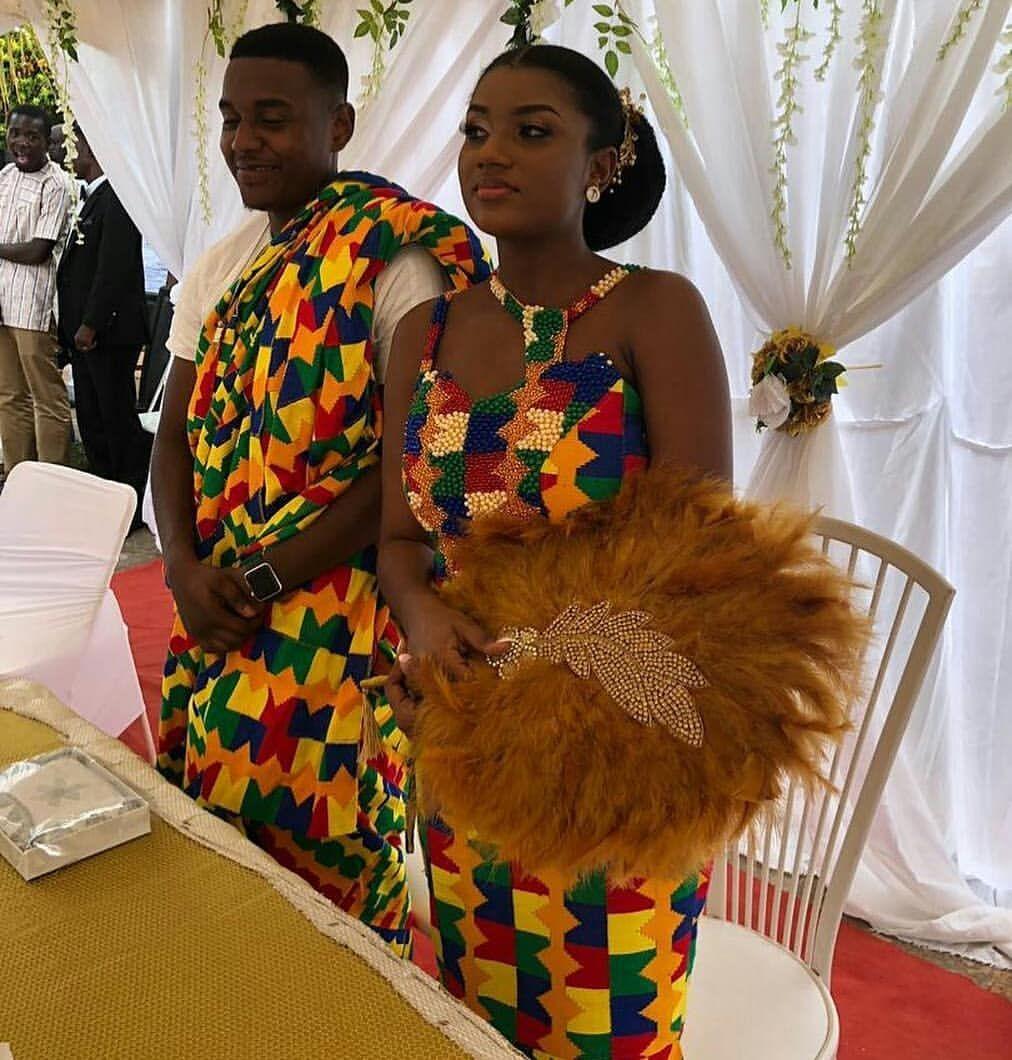We Love Ghana Weddings💑💍 (@weloveghanaweddings) • Photos et vidéos  Instagram | Ghana wedding, African wedding attire, African bride