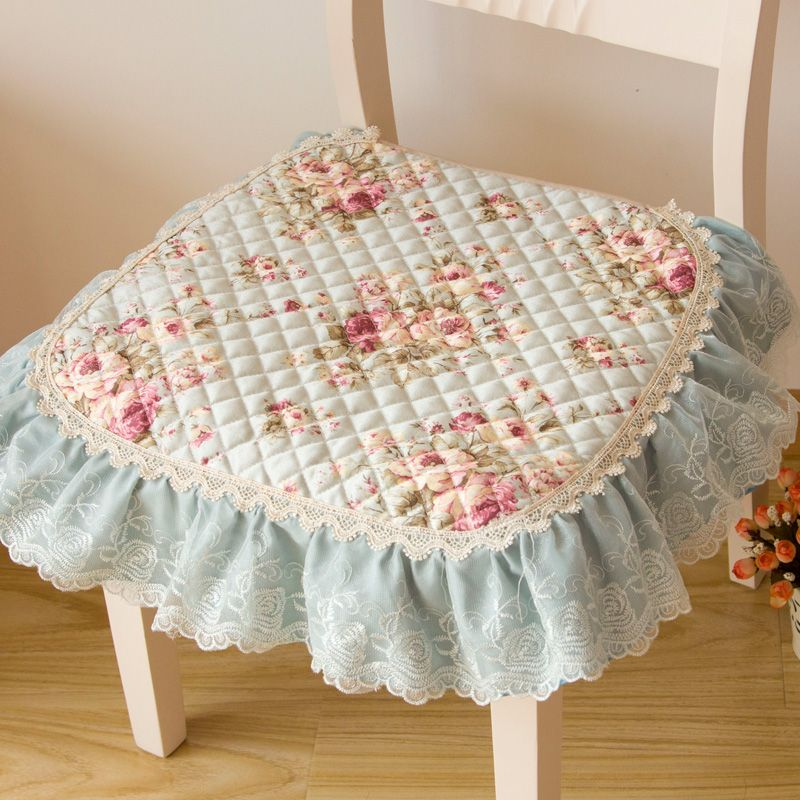 Su0026V Rural Cloth Art Dining Fabric Chair Pad Quilting Cotton Padded Chair  Cushions Non