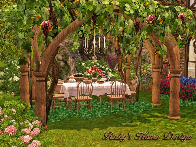 Marvelous Rubyu0027s Home Design 璐比的房屋: Sims3 Enchanted Fairy Garden 仙子花園