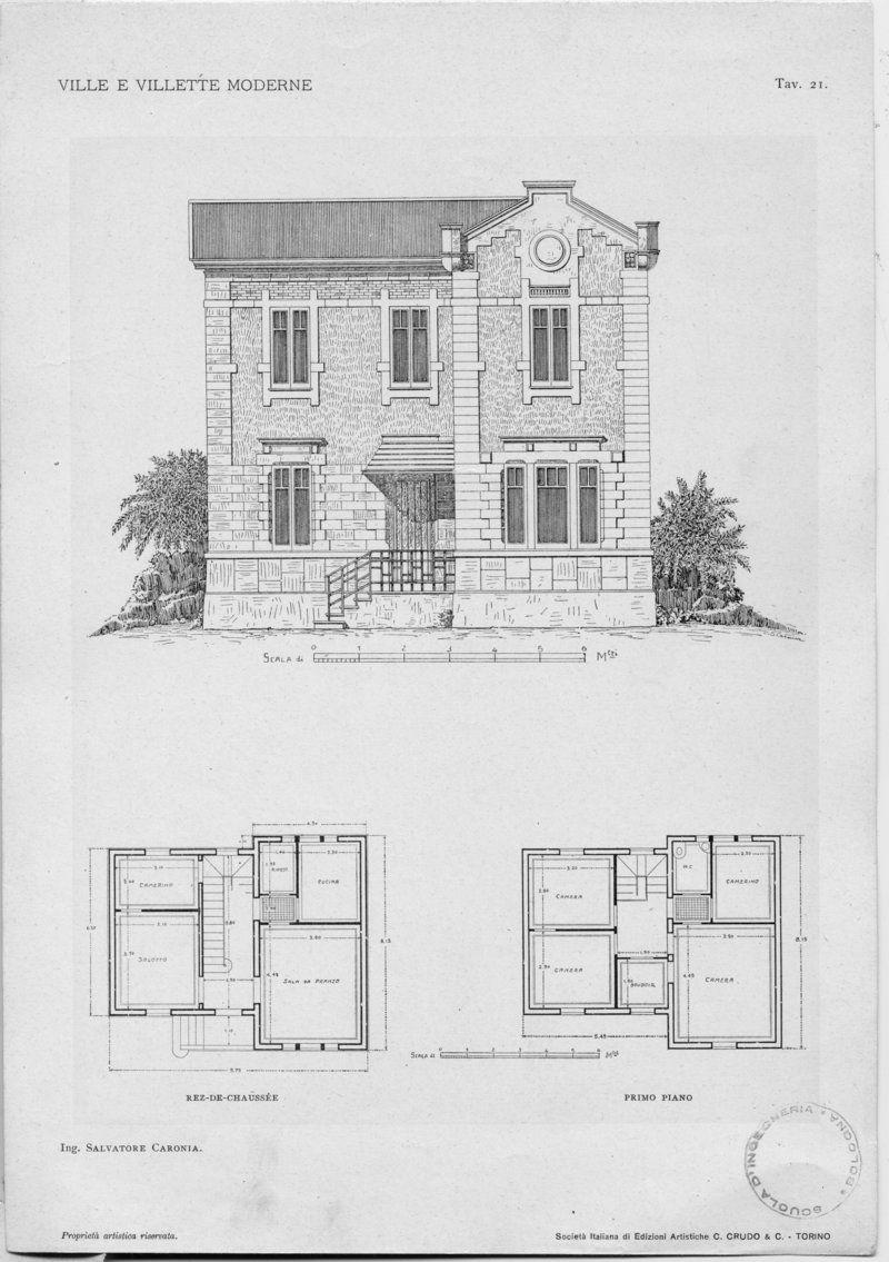 Progetti Case Moderne Su Un Piano.Villetta Moderna Su Un Piano Beautiful Planimetria Casa Mq With