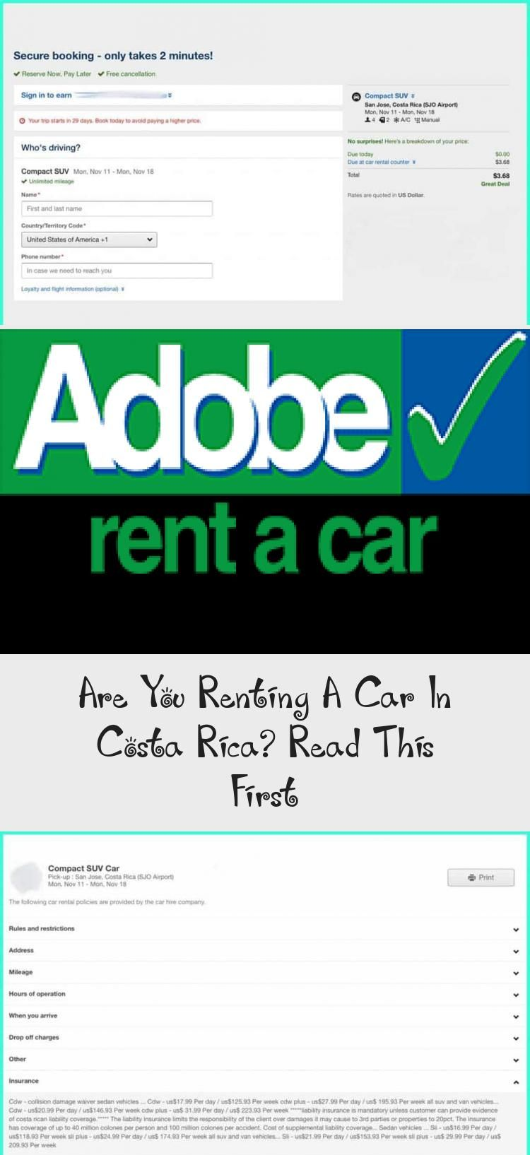 Are You Renting A Car In Costa Rica? Read This First