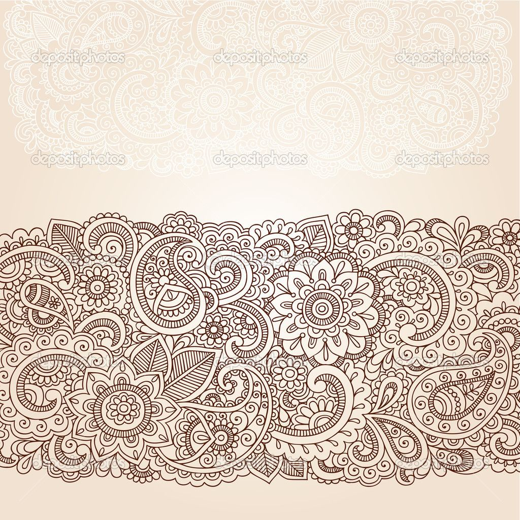 Intricate Mehndi Patterns : Intricate paisley google search chaos