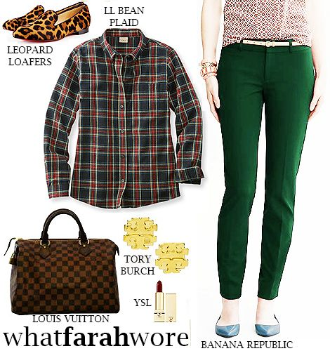 Rustic Chic: What Farah Wore: 3.4.15