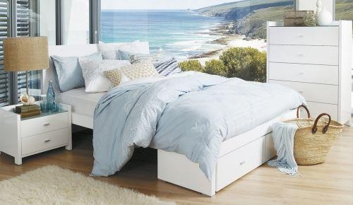 Rimini White Kids & Teens Bedroom Suite | Bedshed Beds, Mattresses ...