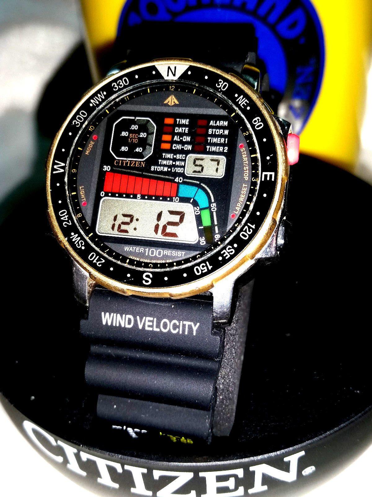 40058b44b859e Relógio Citizen Windsurf   Relógios em 2019   Reloj, Bellisima e Flores