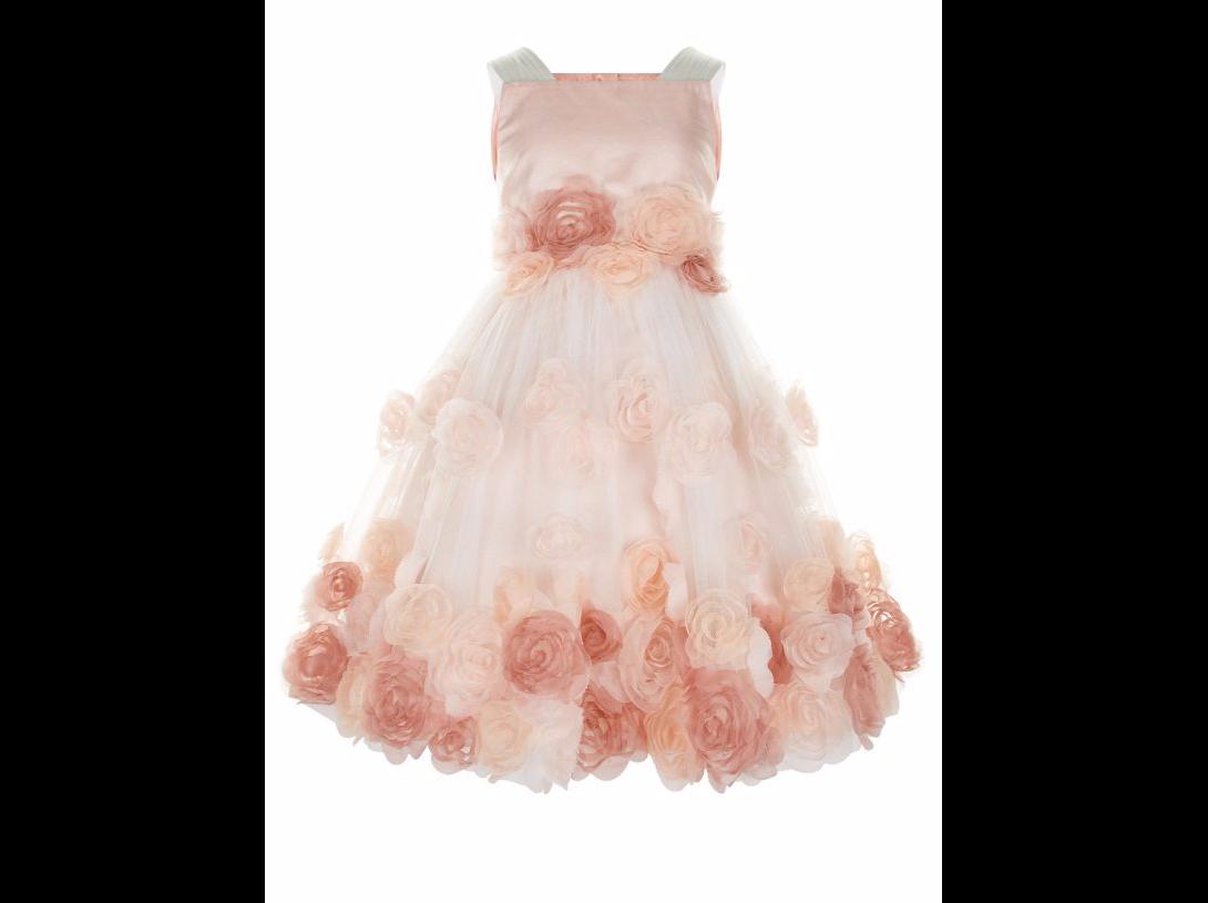 Wedding ideas by colour: 9 Perfect Peach Flower Girl Dresses - Elysianna dress | CHWV