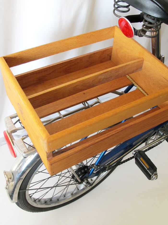 Wood Storage Shelf Makeover