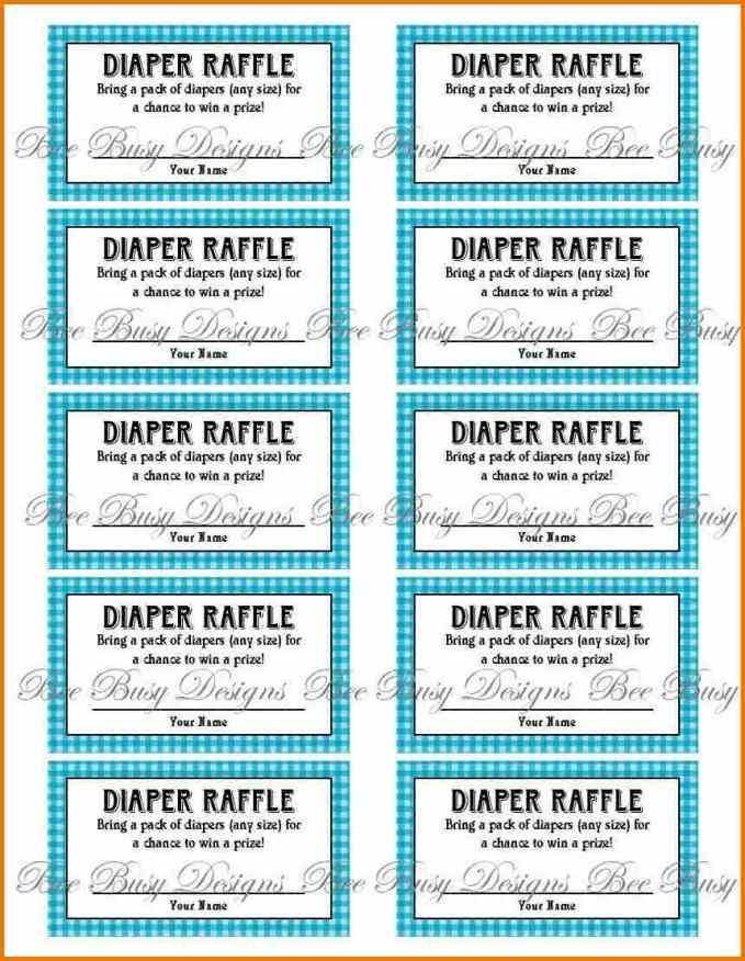 envelopes for your project through Free Printable Raffle Ticket
