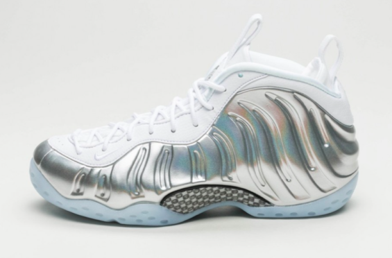 reputable site f6e9b 08bf4 Nike WMNS Air Foamposite One Chrome Arriving Next Week The Nike WMNS Air  Foamposite One Chrome