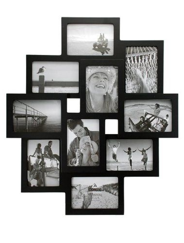 Malden Crossroads 10 Slot Collage Picture Frames For 3 1 2 By 5 Inch Images 29 52