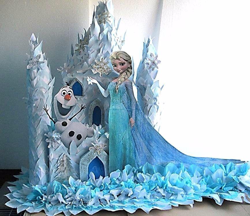 Bellísima Piñata Elsa Frozen Con Vestido De Novia Bs