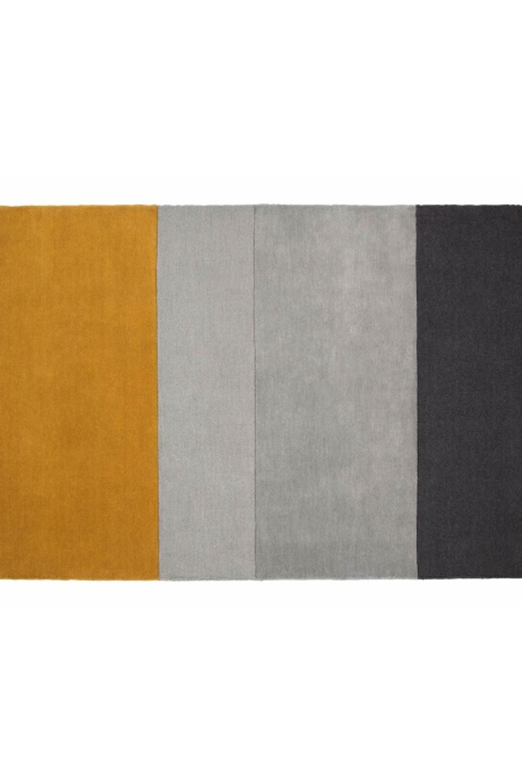 Cabone Yellow Grey Wool Olohuone