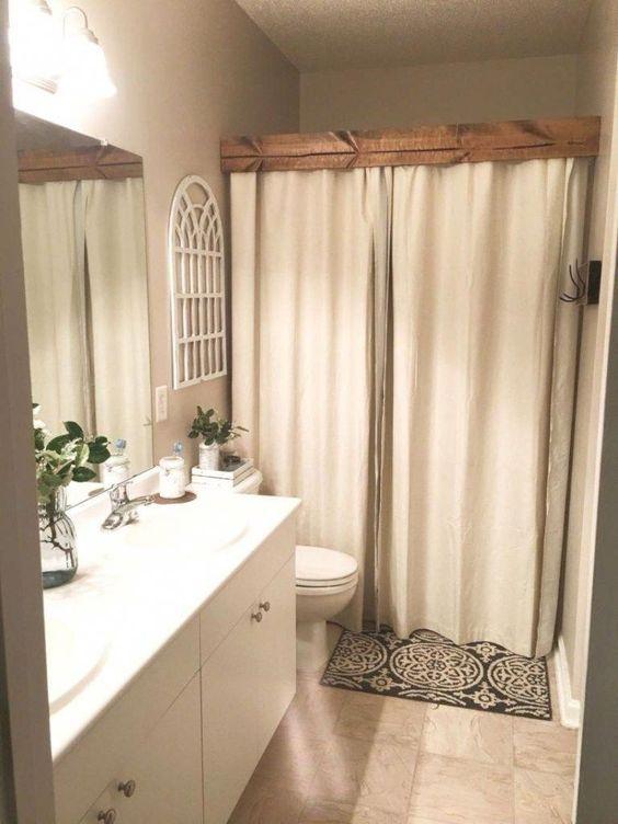 45 Fascinating Rustic Storage Ideas For Bathroom