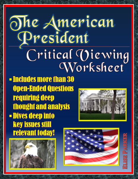 Possessive Pronoun Worksheets Excel The American President  Critical Viewing Questions Worksheet Pdf  Fluency Practice Worksheets Word with Worksheet For Letter H Word The American President  Critical Viewing Questions Worksheet Pdf Version Complete Sentence Worksheets Pdf