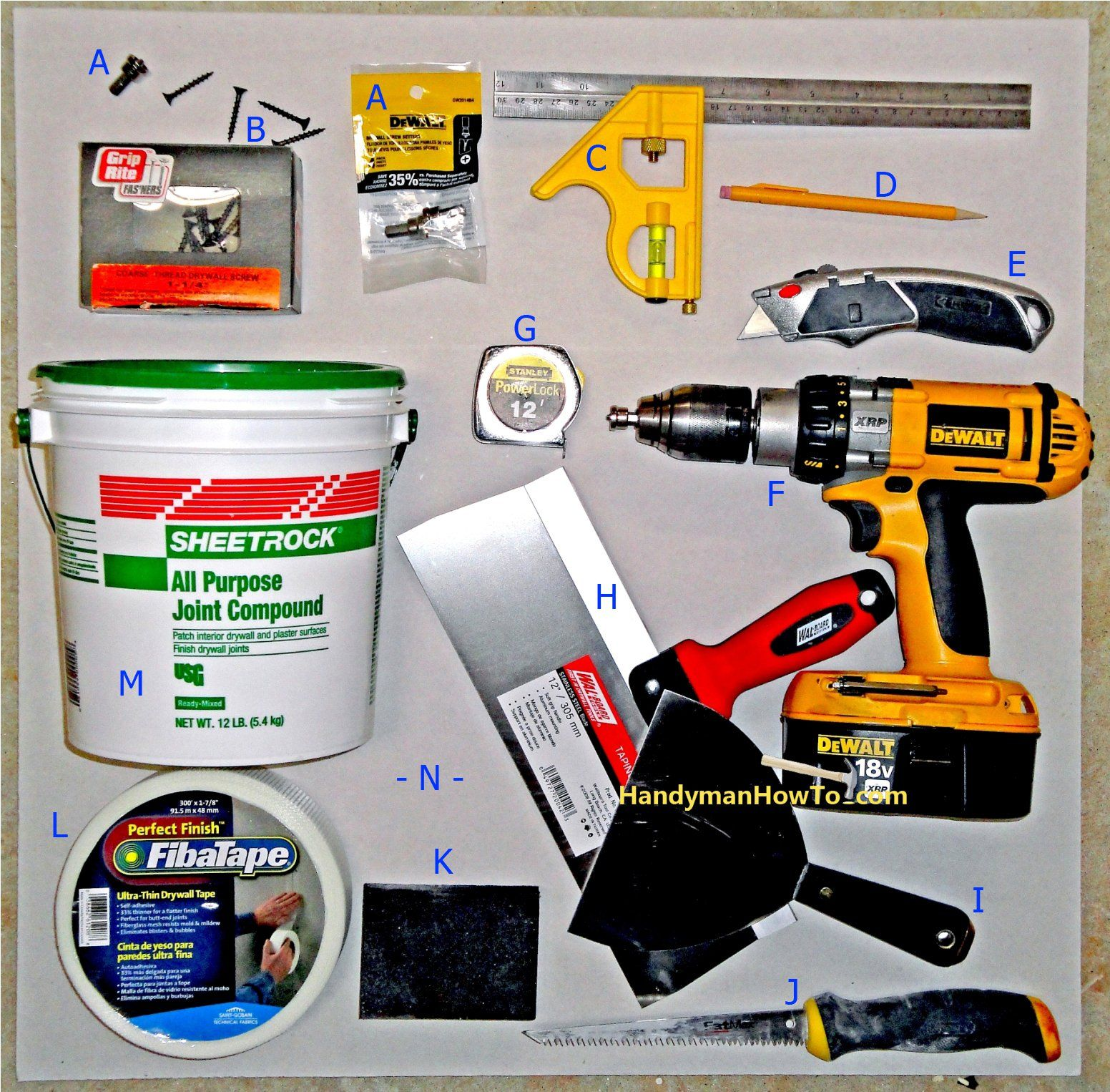 How to Repair Drywall Ceiling Water Damage Drywall