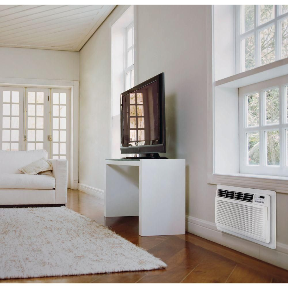 Lg Electronics 8 000 Btu 115 Volt Through The Wall Air Conditioner With Energy Star And Remote Lt0816 Wall Air Conditioner High Efficiency Air Conditioner Home