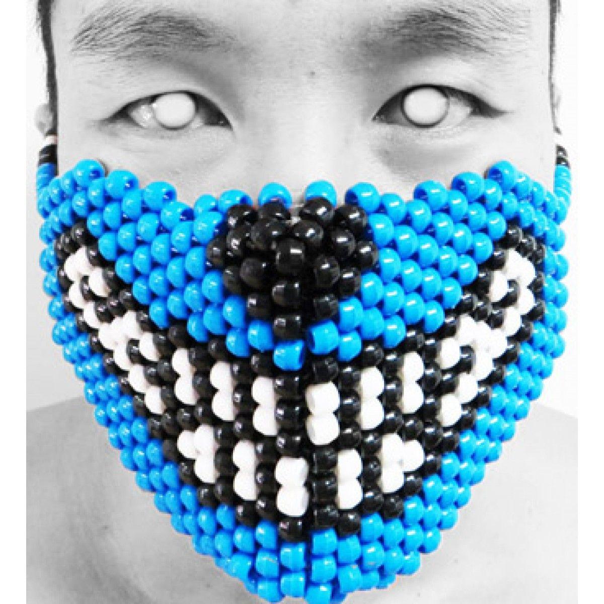 Big Bad Wolf Kandi Mask #bigbadwolf #plur #edm #electricdaisycarnival #edc #