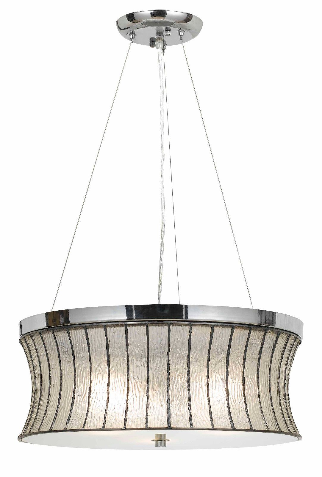 Art deco style modern chrome bell crystal glass metal drum pendant art deco style modern chrome bell crystal glass metal drum pendant light fixture chandelier 19 arubaitofo Image collections