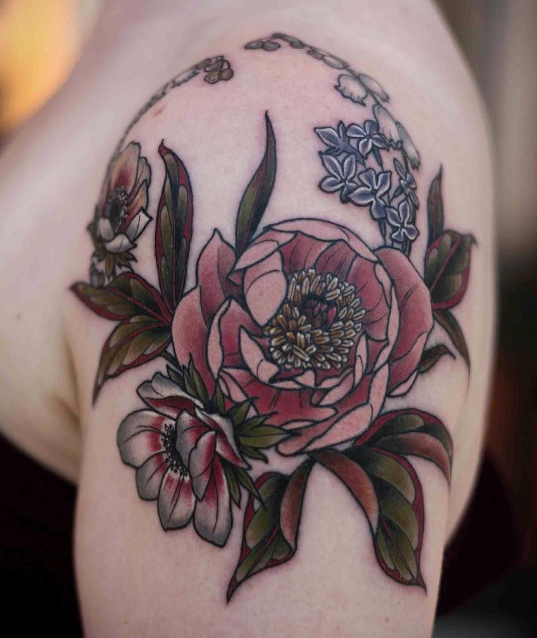 41+ Amazing Lily of the valley tattoo outline ideas