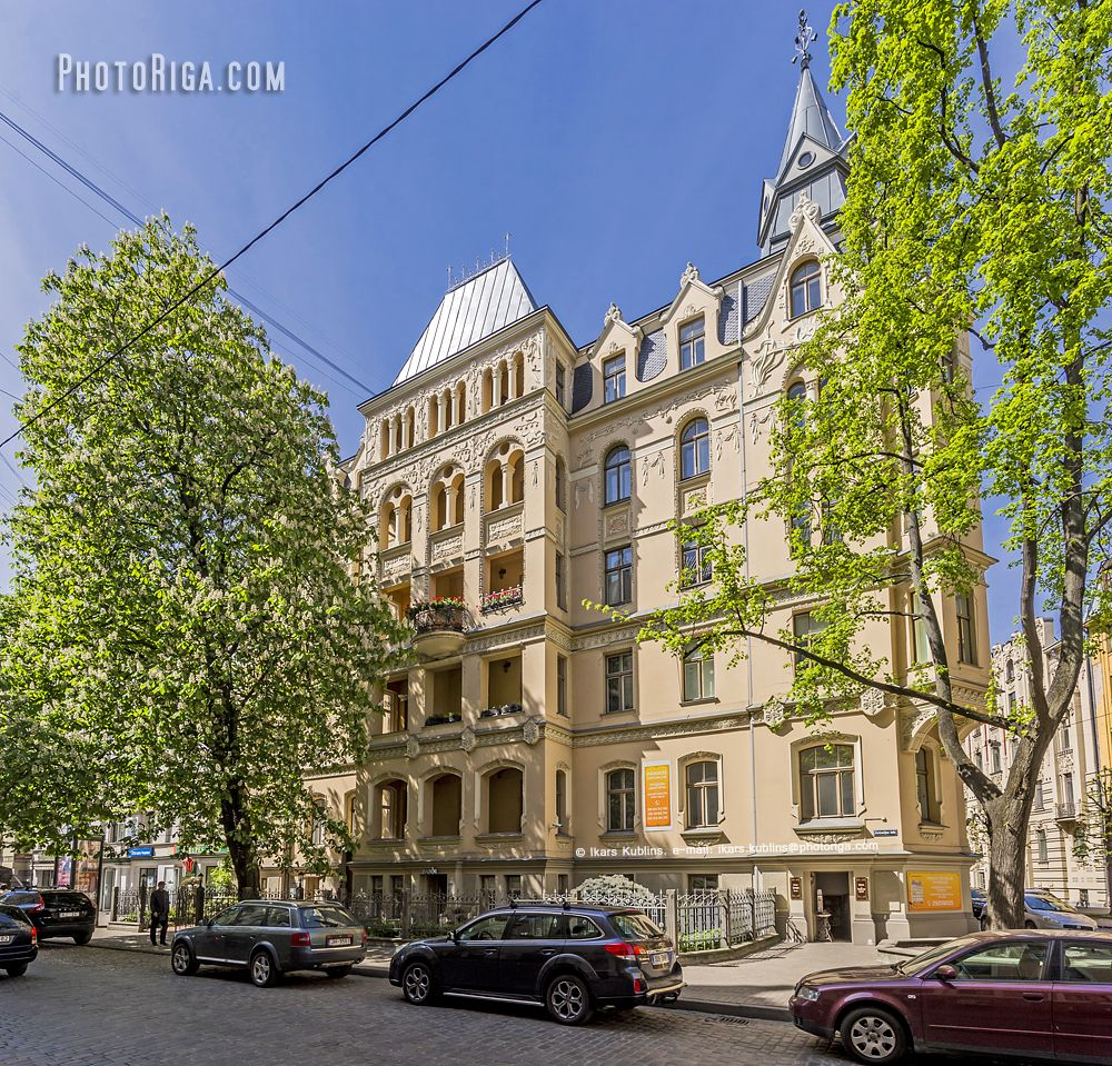 Alberta iela 1 - Riga City Photos