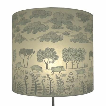 Wild boar with clouds lampshade pale blue woodcuts pinterest wild boar with clouds lampshade pale blue aloadofball Choice Image