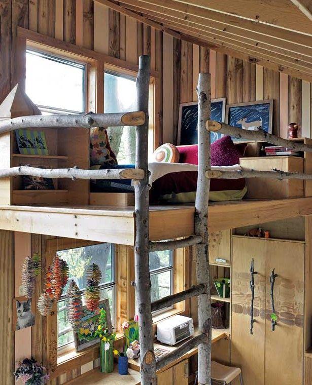 Kleines Kinderzimmer mit Hoch oder Etagenbett einrichten